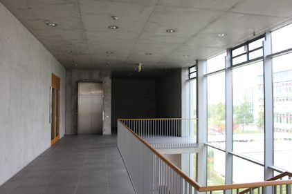 Praktikumsgebäude Würzburg vor der Gestaltung